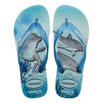 Sandália Havaianas Conservação Internacional Ice Blue 41/42 -