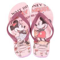 Sandalia Havaianas Disney Stylish Creme -
