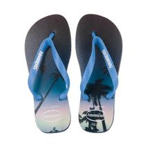 Sandalia Havaianas Hype Marinho Azul/Aço -