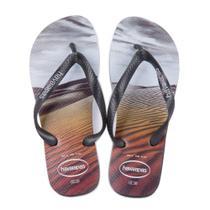 Sandalia Havaianas Hype Preto/Preto -