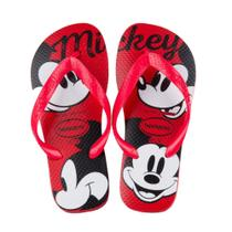 Sandalia Havaianas Top Disney Vermelho Rubi -