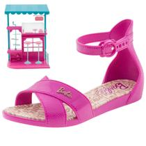 8d3638f90 Sandália Infantil Feminina Barbie Confeitaria Grendene Kids - 21921 PINK  PINK