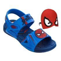Sandália Infantil Grendene Kids Marvel Hero Glasses Masculina -