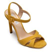 Sandália Lialine Couro Nobuck Yellow 1786.9070 -