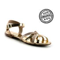 Sandalia molekinha metal glamour gliter mini shine - 2309.221 -