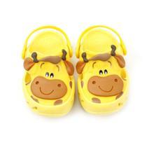 Sandália Plugt Infantil Bichinho Girafa Amarelo - 5500 -