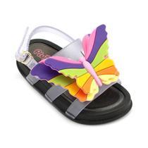 Sandalia Plugt Menina Mini Bizz Borboleta 1-00304 -