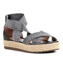 Sandália Shoestock Flatform Elástico Feminina -