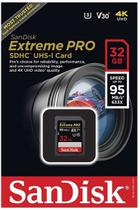 Sandisk Sd Sdhc Extreme Pro 95mb/s 32gb Lacrado +rápido -