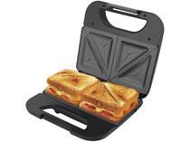 Sanduicheira Britânia Toast Preta 750W - Antiaderente