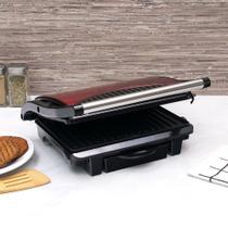 Sanduicheira e Grill Press Inox Red - Philco -