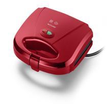 Sanduicheira e Minigrill Multilaser 127V 750W Vermelha - CE148 -