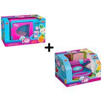 Sanduicheira Infantil + Microondas Com Som E Luz Usual - Usual Brinquedos