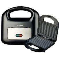 Sanduicheira Mini Grill Antiaderente Best FS-8016A 750W Preta -