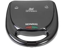 Sanduicheira Mondial Fast Grill e Sandwich - S-12 780W com Alça Fria