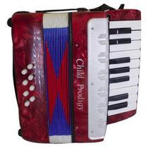 Sanfona acordeon infantil 8 baixos grande - Acordeom