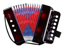 Sanfona Infantil Mini Acordeon Musical Toca De Verdade - Like Toys