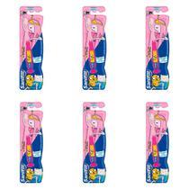 Sanifill Adventure Time Escova Infantil Macia (Kit C/06) -