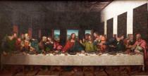 Santa Ceia (1520) - Giampietrino - Tela 60x116 Para Quadro - Santhatela