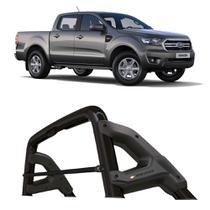 Santo Antonio Ford Ranger 2013 a 2020 Cabine Dupla Keko com Grade Vidro Preto -