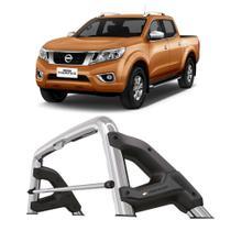 Santo Antonio Nissan Frontier 2017 a 2020 Cabine Dupla Keko com Grade Vidro Cromado -