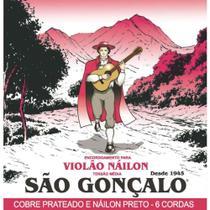 São Gonçalo - Encordoamento Para Violão Nylon Preto IZ0154 -