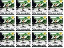 São Gonçalo Kit 12 Encordoamentos Para Cavaquinho Aço Iz0131 - Sg