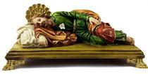 São José Dormindo 27cm - Casa Da Fé- Artigos Religiosos-