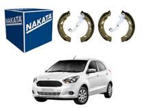 Sapata de freio nakata ford ka 1.0 1.5 2014 a 2017 -
