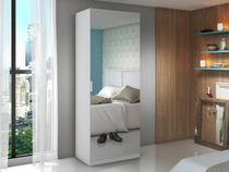 Sapateira 1 Porta 4 Prateleiras com espelho - Made Marcs Siena