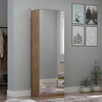 Sapateira com 1 Porta Espelho Agata Madeirado - Gelius -