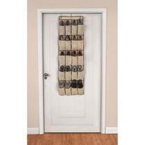 Sapateira de Porta ou Parede OR61300 10 Pares ou 20 Divisórias Organizador Sapatos Calçados Ordene -