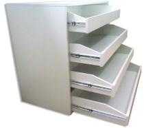 Sapateira gaveteiro cômoda 800/4 decoração 100 % mdf móveis mariano -