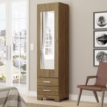 Sapateira Leon 01 Porta com Espelho Rústico - Móveis Henn -