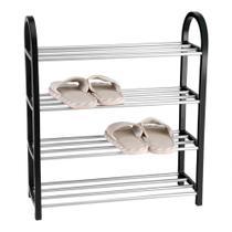 Sapateira Organizador De Sapatos 4 Prateleiras Até 12 Pares - Casíta -