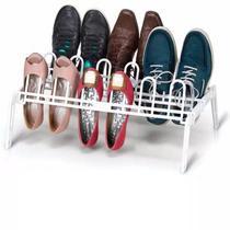 Sapateira para 9 pares de sapatos Branca - Secalux -