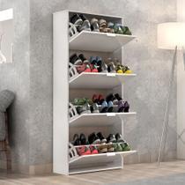 Sapateira Safira Branca Suporta Varios Sapatos - Quarta Divisão