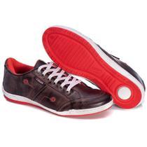 Sapatenis Couro Tchwm Shoes Masculino Confortavel Macio -