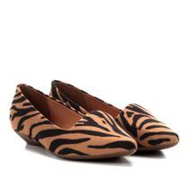 Sapatilha Vizzano Slipper Zebra Feminina -