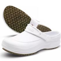 Sapato antiderrapante babuch softworks bb60 branco -