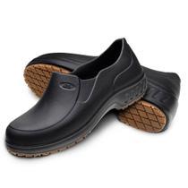 Sapato Antiderrapante de Borracha Preto Nº 39 - Marluvas -