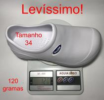 Sapato Babuche fechado enfermagem cozinha Yvate BGX053 -