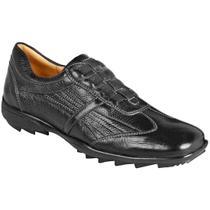 414d35d60 Sapato casual masculino conforto sandro moscoloni soho preto black -