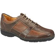 384e4b4a4a Sapato casual masculino oxford sandro moscoloni willians marrom cognac -