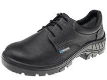 Sapato de segurança em couro marluvas 95s29 bico plastico -