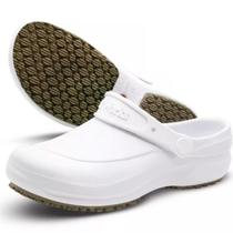 Sapato Enfermagem Hospital Antiderrapante Babuch Softworks BB60 Branco -