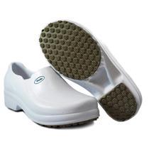Sapato Enfermagem Hospital Antiderrapante Softworks BB65 Branco -