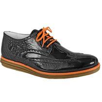 6d503a319 Sapato esporte fino masculino derby sandro moscoloni lebron preto black