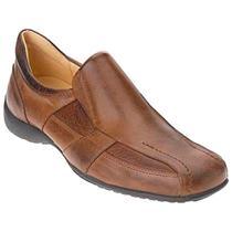 6ac866158 Sapato esporte fino masculino loafer sandro moscoloni banta marrom cognac -