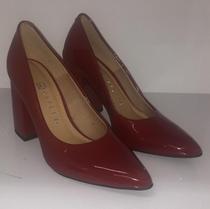 Sapato Fem. Offline Verniz Vermelho- 5206.20848 - Facinelli